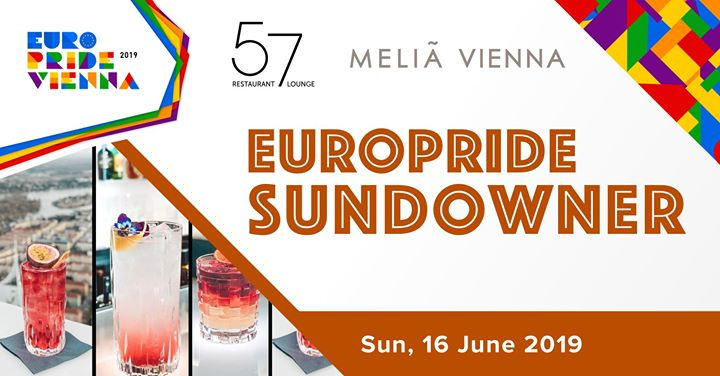 EuroPride 2019 Sundowner in Vienna le Sun, June 16, 2019 from 06:00 pm to 01:00 am (After-Work Gay, Lesbian, Trans, Bi)
