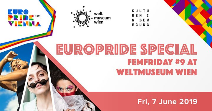 FemFriday #9 Aaron Porter, Sanni Est, Dacid Go8lin in Vienna le Fri, June  7, 2019 from 07:30 pm to 10:30 pm (Festival Gay, Lesbian, Trans, Bi)