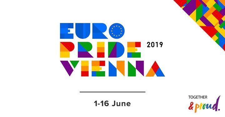 EuroPride Vienna 2019 in Vienna le So 16. Juni, 2019 00.01 bis 23.59 (Festival Gay, Lesbierin, Transsexuell, Bi)