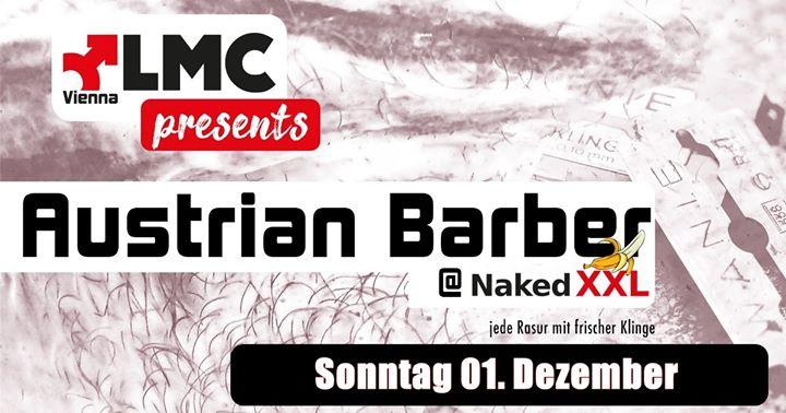 Naked XXL - Austrian Barber à Vienne le dim.  1 décembre 2019 de 19h00 à 23h30 (Sexe Gay)