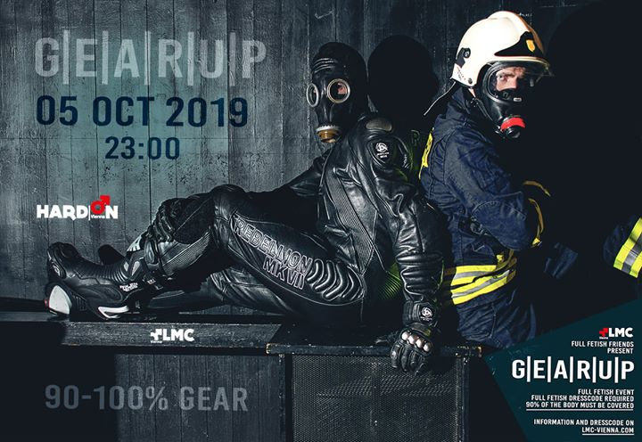 Gear | Up à Vienne le sam.  5 octobre 2019 de 23h00 à 04h00 (Sexe Gay)