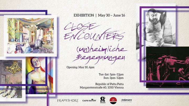 Ausstellung: Close Encounters – (un)heimliche Begegnungen in Vienna le Sat, June 15, 2019 from 05:00 pm to 12:00 am (Expo Gay)