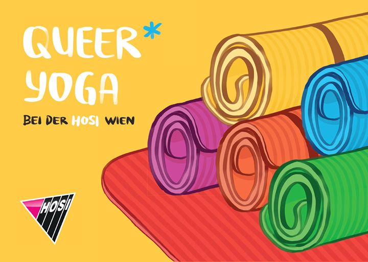QUEER YOGA in Vienna le Sun, August  4, 2019 from 08:00 pm to 09:30 pm (Workshop Gay, Lesbian, Trans, Bi)