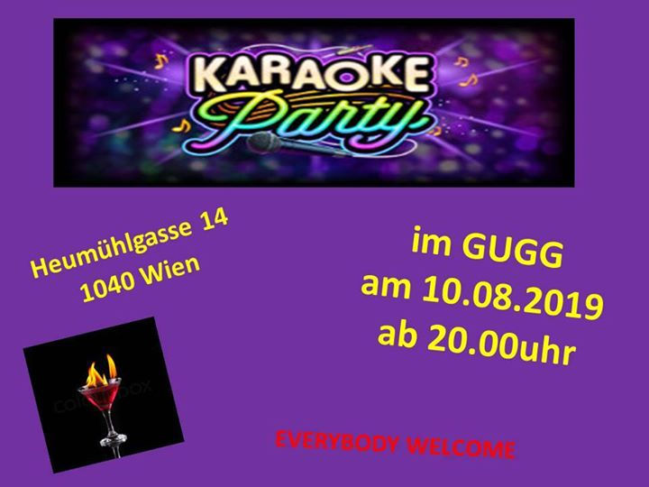 Karaoke Party in Vienna le Sat, August 10, 2019 from 08:00 pm to 12:00 am (After-Work Gay, Lesbian, Trans, Bi)