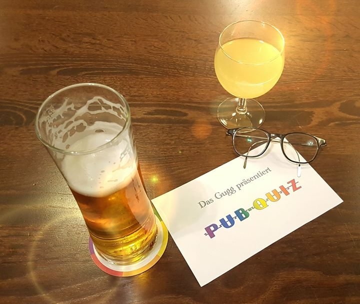 Gugg Pub-Quiz in Vienna le Tue, October 22, 2019 from 07:30 pm to 11:30 pm (After-Work Gay, Lesbian, Trans, Bi)