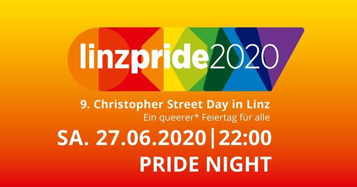 Linzpride 2020 - Pride Night in Linz le Sa 27. Juni, 2020 22.00 bis 04.00 (Festival Gay, Lesbierin, Transsexuell, Bi)