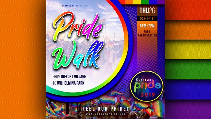 WillemstadCuracao Pride - Walk, Opening & Concert2019年 6月26日,18:00(男同性恋, 女同性恋 节日)