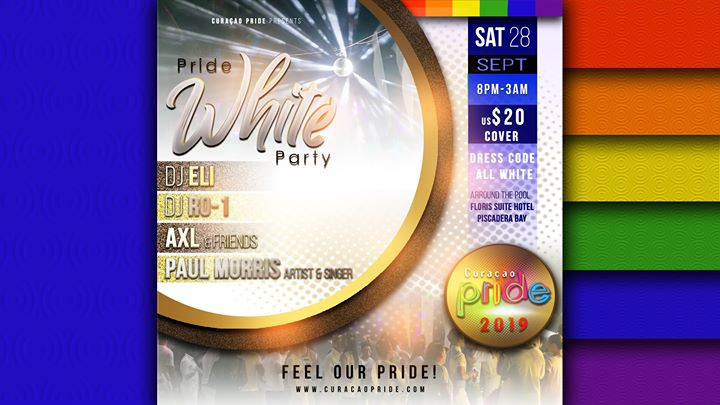 Curacao Pride - White party in Willemstad le Sat, September 28, 2019 from 08:00 pm to 03:00 am (Festival Gay, Lesbian)