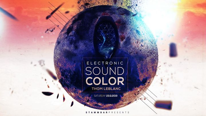 Electronic sound coulour en Bruselas le sáb 23 de noviembre de 2019 21:00-05:00 (Clubbing Gay)