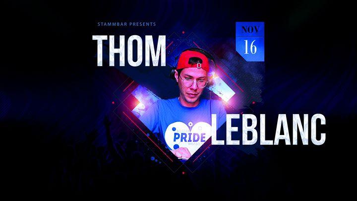 Thom Leblanc en Bruselas le sáb 16 de noviembre de 2019 21:00-05:00 (Clubbing Gay)