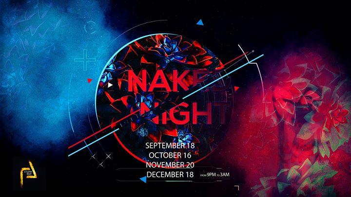 Naked Night en Bruselas le mié 16 de octubre de 2019 21:00-03:00 (Sexo Gay)