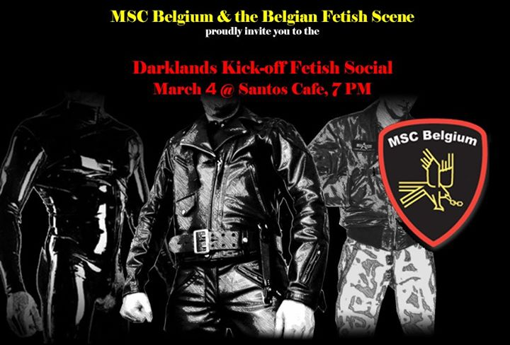 Darklands Kick-Off Fetish Social in Antwerpen le Mi  4. März, 2020 19.00 bis 23.00 (After-Work Gay)