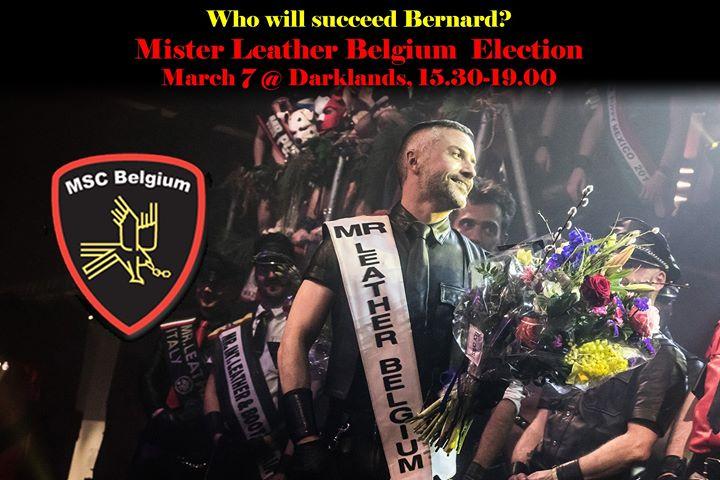 安特卫普Mister Leather Belgium Election2020年 3月 7日,15:30(男同性恋 下班后的活动)