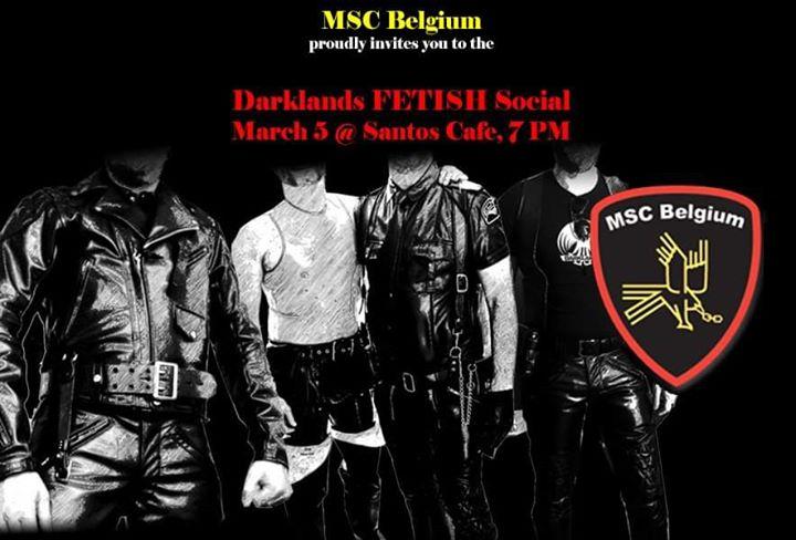 安特卫普MSC BELGIUM fetish social2020年 7月 5日,19:00(男同性恋 下班后的活动)