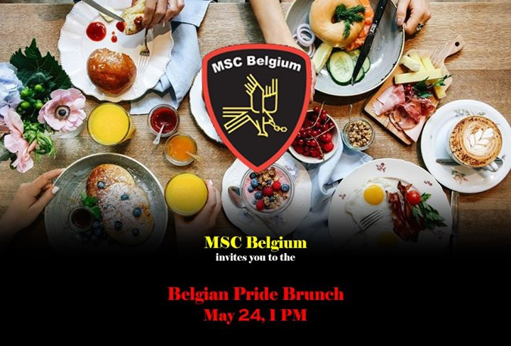 Belgian Pride Brunch in Brussels le Sat, May 23, 2020 from 01:00 am to 04:00 am (Brunch Gay)