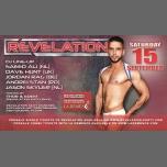 Revelation • 15 September à Bruxelles le sam. 15 septembre 2018 de 22h00 à 08h00 (Clubbing Gay)