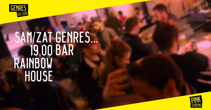 Pinkscreens night out at Rainbowhouse in Brussels le Sat, September 14, 2019 from 07:00 pm to 01:00 am (Cinema Gay, Lesbian, Hetero Friendly)