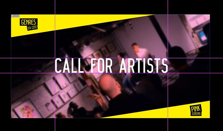 Call for artists - Expo Pink Screens 2019 - em Bruxelas le qua, 31 julho 2019 12:00-13:00 (Cinema Gay, Lesbica, Hetero Friendly)