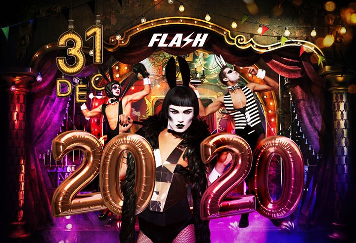 Flash New Year's Eve 2020 x Tuesday December 31 en Bruselas le mar 31 de diciembre de 2019 22:30-06:00 (Clubbing Gay)