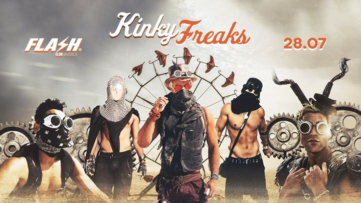 FMIF x Kinky Freaks x FLASH x Sunday July 28 in Brussels le Sun, July 28, 2019 from 10:30 pm to 05:00 am (Clubbing Gay)