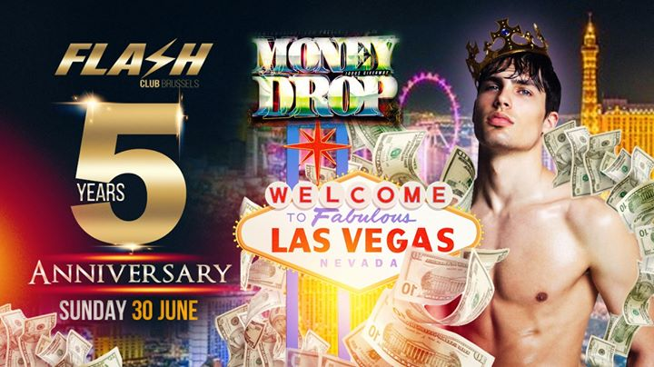 ★★★ FLASH 5 Year Anniversary ★★★ Sunday 30 June in Brussels le Sun, June 30, 2019 from 10:30 pm to 05:30 am (Clubbing Gay)