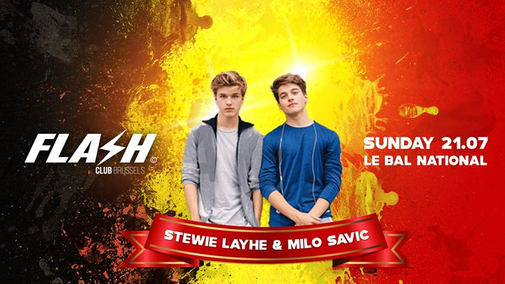 FLASH Club ⚑ Le Bal National ⚑ Sunday 21 July in Brussels le Sun, July 21, 2019 from 10:30 pm to 05:00 am (Clubbing Gay)
