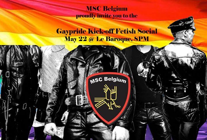 布鲁塞尔Gaypride Kick-off Fetish Social2020年 8月22日,08:00(男同性恋, 熊 下班后的活动)
