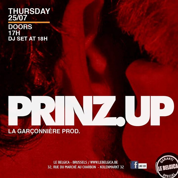 Prinz.up x Le Belgica in Brussels le Thu, July 25, 2019 from 06:00 pm to 11:59 pm (After-Work Gay)