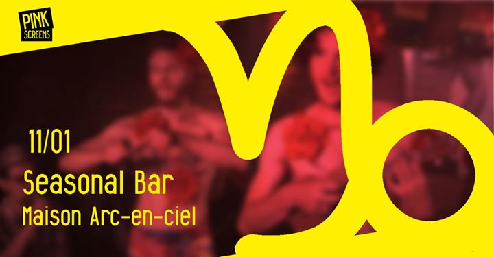 Pink Screens Bar at RainbowHouse a Bruxelles le sab 11 gennaio 2020 19:00-23:30 (Cinema Gay, Lesbica)