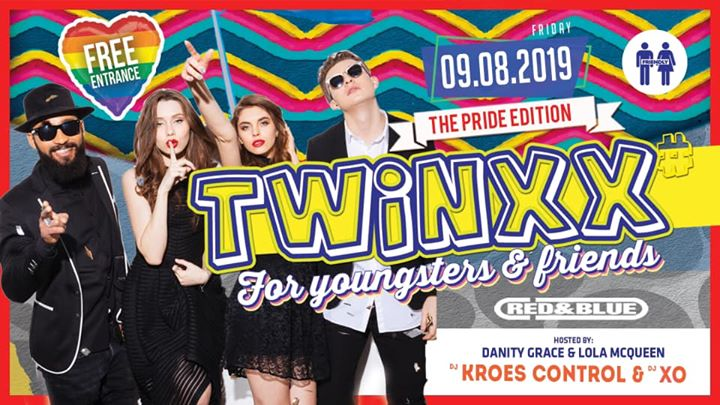 Twinxx Pride Edition! in Antwerp le Fri, August  9, 2019 at 11:00 pm (Clubbing Gay)