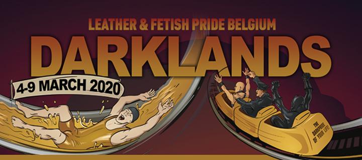 Darklands Fest à Anvers du  4 au  9 mars 2020 (Festival Gay, Bear)