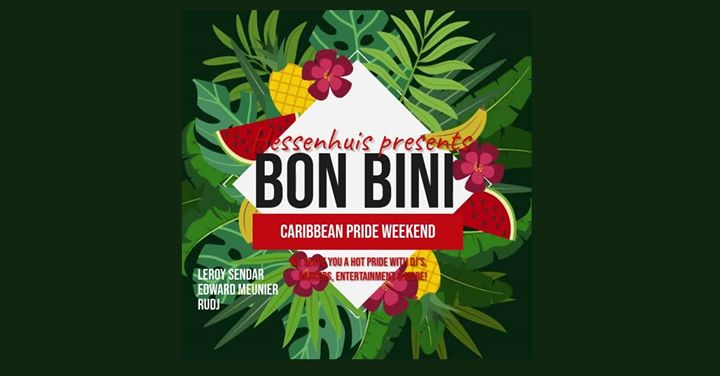 BON BINI Caribbean Pride Weekend in Antwerp le Fri, August  9, 2019 from 10:00 pm to 06:00 am (Clubbing Gay, Lesbian)