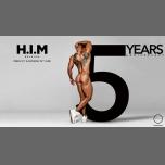 5YRS H.I.M Anniversary - 2 Nights em Antuérpia de 21 para 23 de junho de 2019 (Clubbing Gay)