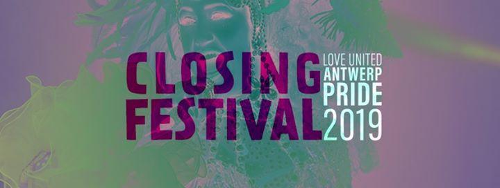 Antwerp Pride - Closing Festival a Anversa le dom 11 agosto 2019 13:00-18:30 (Festival Gay, Lesbica, Trans, Bi)