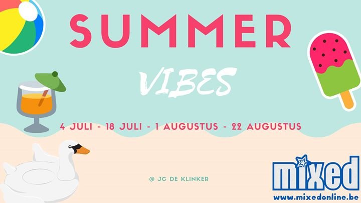 Summervibes in Aarschot le Thu, August  1, 2019 from 07:00 pm to 11:00 pm (After-Work Gay, Lesbian, Trans, Bi)