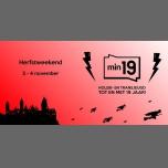Min19 Herfstweekend 2018 à Gand du  2 au  4 novembre 2018 (Rencontres / Débats Gay, Lesbienne, Trans, Bi)