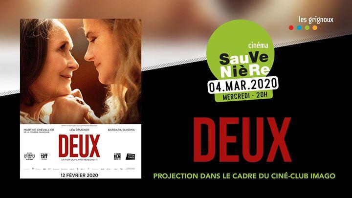 Deux • Ciné-club IMAGO in Lüttich le Mi  4. März, 2020 20.00 bis 23.00 (Kino Gay, Lesbierin, Transsexuell, Bi)