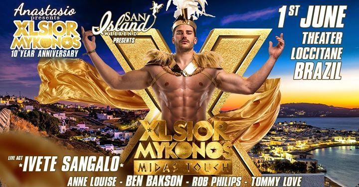 XLSIOR Mykonos | San Island Weekend à Itacaré le sam.  1 juin 2019 de 22h30 à 06h00 (Clubbing Gay)