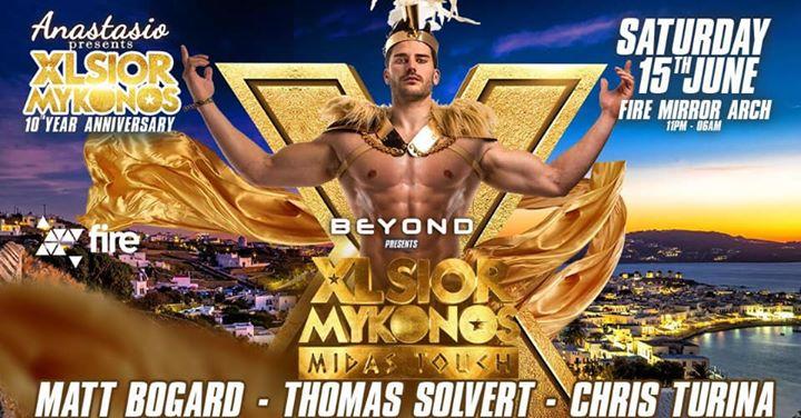 XLSIOR Mykonos | Beyond London à Londres le sam. 15 juin 2019 de 23h00 à 06h00 (Clubbing Gay)