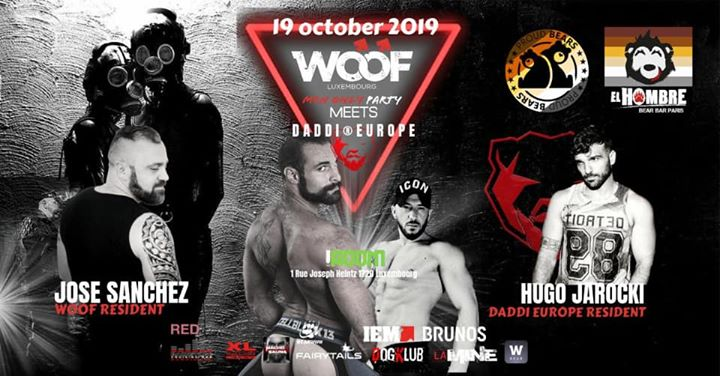 Bear Pride Luxembourg in Luxemburg le Sat, October 19, 2019 from 10:00 pm to 05:00 am (Clubbing Gay, Bear)