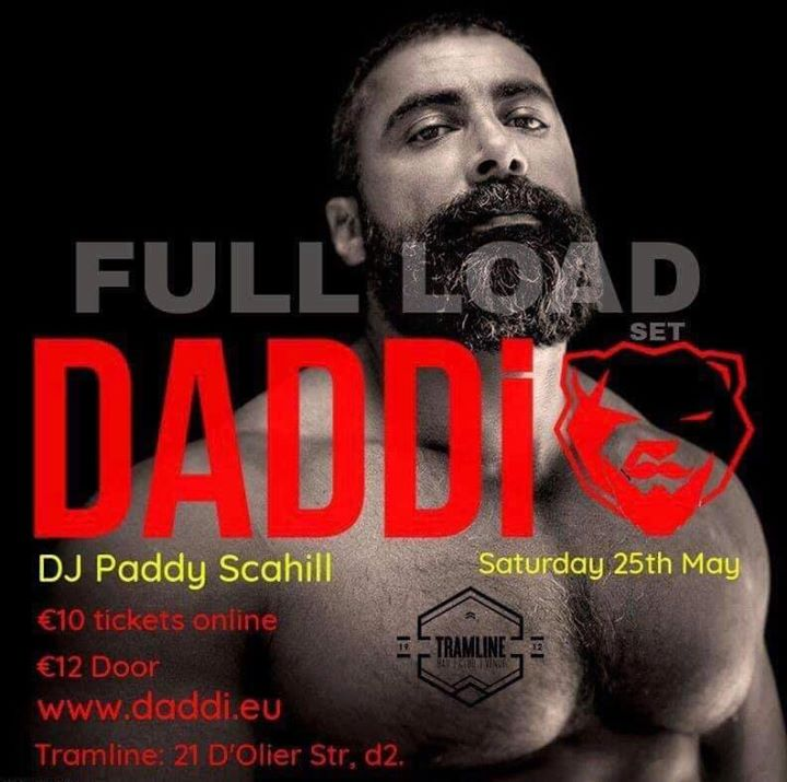 DADDi® Saturday 25th May in Dublin le Sat, May 25, 2019 from 11:00 pm to 03:00 am (Clubbing Gay, Bear)