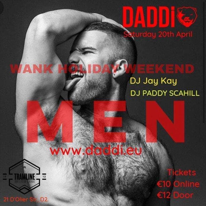 DADDi® Special Easter Edition in Dublin le Sat, April 20, 2019 from 11:00 pm to 03:00 am (Clubbing Gay, Bear)