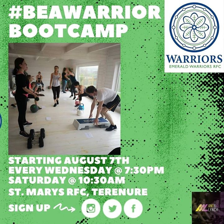 Emerald Warriors Bootcamp with Ant and Ali Lynch. in Dublin le Wed, August  7, 2019 from 07:00 pm to 10:00 pm (Sport Gay, Hetero Friendly)