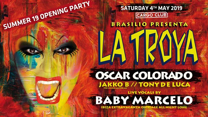 La Troya: Season 2019 Opening Party in Antwerp le Sat, May  4, 2019 from 11:00 pm to 08:00 am (Clubbing Gay)