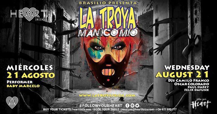 La TROYA Manicomio in Ibiza le Mi 21. August, 2019 23.30 bis 06.30 (Clubbing Gay)