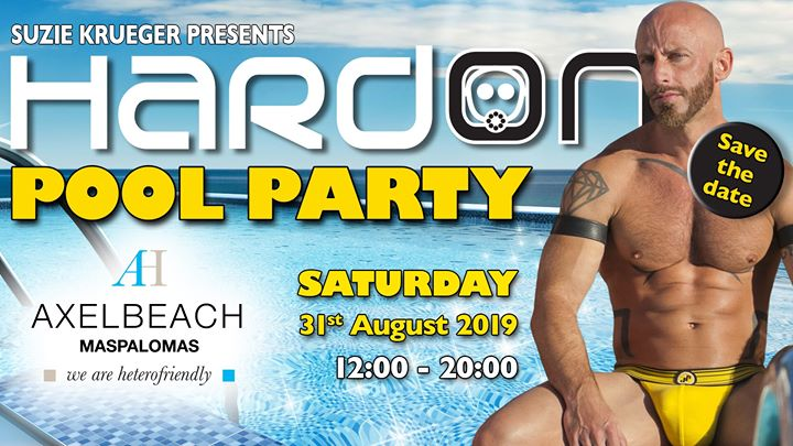 Hard On Pool Party in Playa del Ingles le Sa 31. August, 2019 12.00 bis 20.00 (Clubbing Gay)
