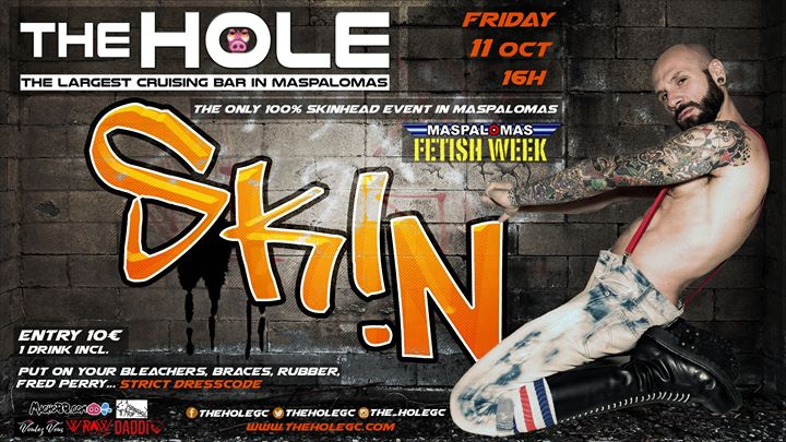 SK!N - Maspalomas Fetish Week 2019 a Playa del Ingles le ven 11 ottobre 2019 16:00-22:00 (Sesso Gay)