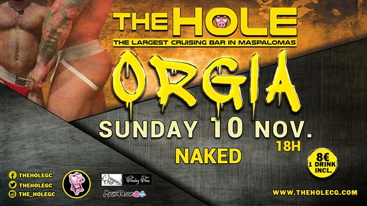 Orgia - Winter Pride Maspalomas in Playa del Ingles le Sun, November 10, 2019 from 06:00 pm to 10:00 pm (Sex Gay)