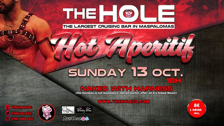Hot Aperitif - Maspalomas Fetish Week in Playa del Ingles le Sun, October 13, 2019 from 06:00 pm to 10:00 pm (Sex Gay)