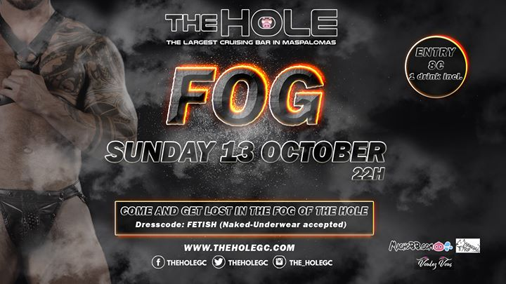 Fog - Maspalomas Fetish Week 2019 in Playa del Ingles le Sun, October 13, 2019 from 10:00 pm to 05:00 am (Sex Gay)